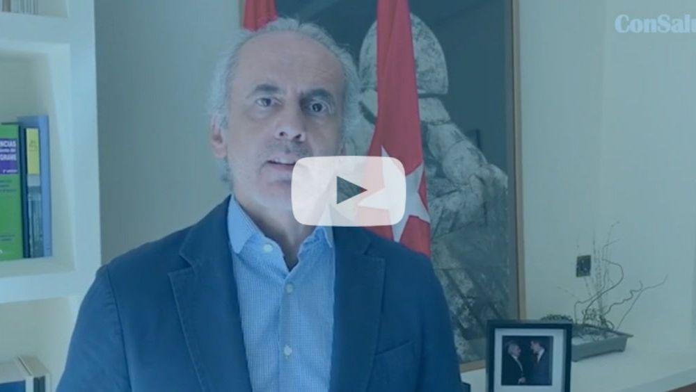 Enrique Ruiz Escudero, consejero de Sanidad de la Comunidad de Madrid (Foto: ConSalud TV)