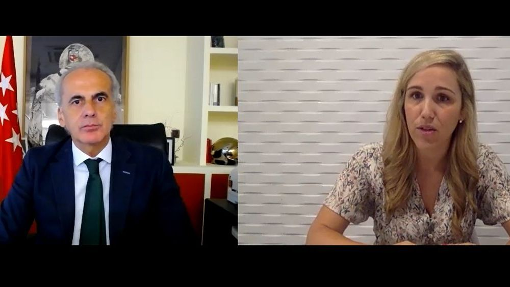 Entrevista Enrique Ruiz Escudero, Consejero de Sanidad de la Comunidad de Madrid