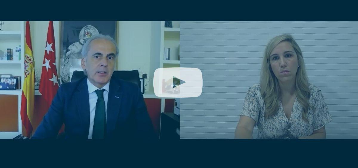 Entrevista Enrique Ruiz Escudero, Consejero de Sanidad de la Comunidad de Madrid   ConSaludTV