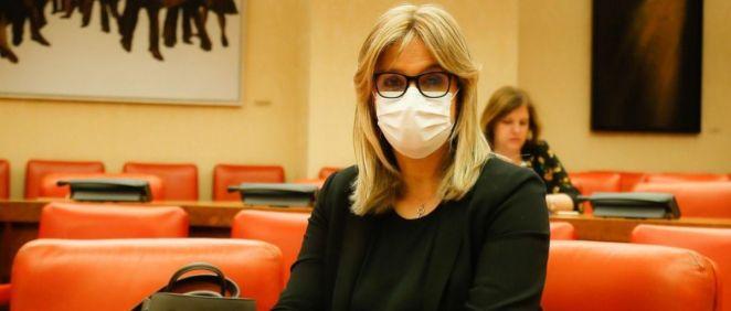 Ana Prieto, portavoz de Sanidad del PSOE en el Congreso (Foto: Congreso)