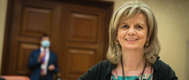 La portavoz de Sanidad del PP en el Congreso, Elvira Velasco (Foto: Flickr GPP)