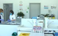 Imágenes del centro de trasfusión de la Comunidad de Madrid (Foto. EP)