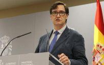 El ministro de Sanidad, Salvador Illa (Foto: @sanidadgob)