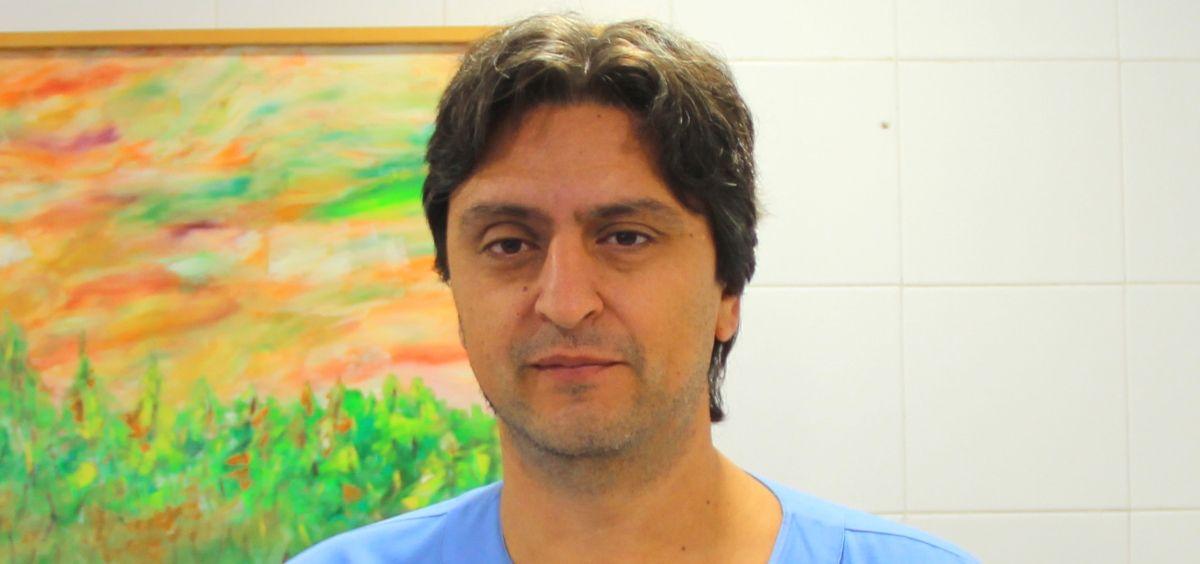 El Dr. Juan González del Castillo (Foto. Hospital Clínico San Carlos)