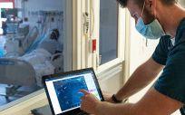 Control remoto en una unidad de cuidados intensivos
