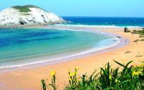 Una de las playas de Cantabria (Foto. Gobierno de Cantabria)