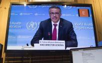 Rueda de prensa de Tedros Adhanom Ghebreyesus (Foto. EP)