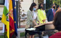 Sara Alba consejera de Salud de La Rioja toma posesión de su cargo (Foto: La Rioja)