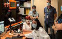 El equipo de ingeniería del Hospital Universitario Miguel Servet. (Foto. Gobierno de Aragón)