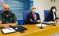 Rueda de prensa del consejero de Sanidad, Miguel Rodríguez (Foto. Gobierno de Catabria   EP)