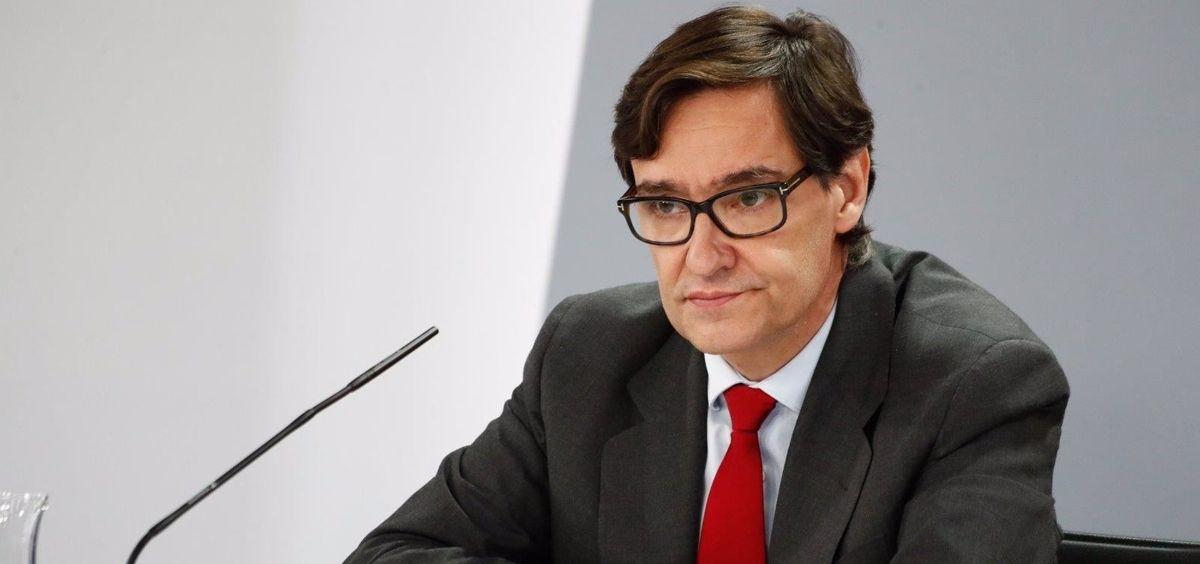 El ministro de Sanidad, Salvador Illa. (Foto. Óscar J. Barroso  EP)
