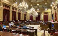 Parlament balear ( Foto. PARLAMENT IB   Archivo EP)