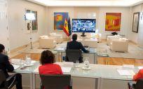 Imagen de la Conferencia de Presidentes que se está celebrando este viernes. (Foto. Pool Moncloa / Borja Puig de la Bellacasa)