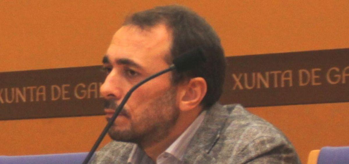 Julio García Comesaña, consejero de Sanidad de Galicia (Foto. Facebook Julio García)