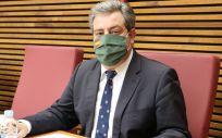 El presidente y portavoz adjunto del Grupo Parlamentario VOX Comunidad Valenciana, José María Llanos (Foto. Vox España)