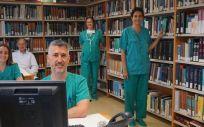 Profesionales de la UCI del hospital de Toledo (Foto. JCCM)