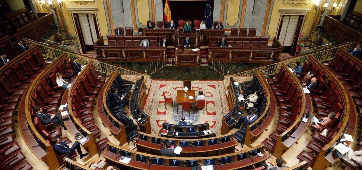 Hemiciclo del Congreso. (Foto. Pool  / EP)