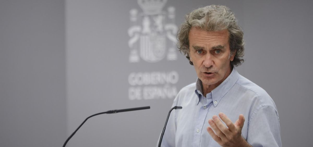 El director del CCAES, Fernando Simón. (Foto. Jesús Hellín EP)