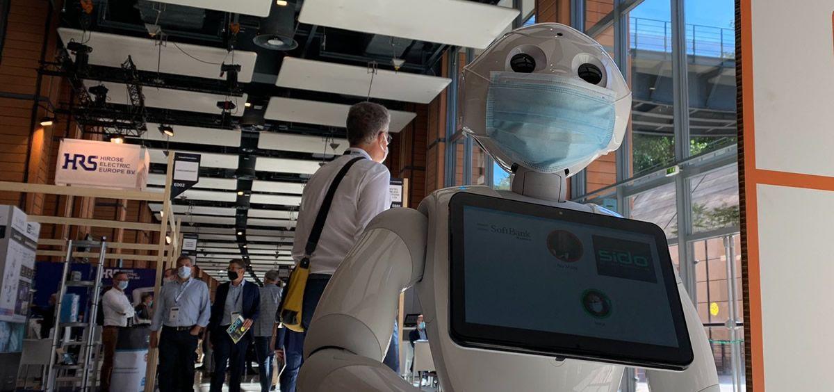 El robot Pepper (Foto. @SBREurope)