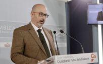 El diputado de Ciudadanos en la Asamblea de Extremadura, José María Casares