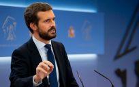 Pablo Casado, presidente del Partido Popular (Foto: Flickr PP)