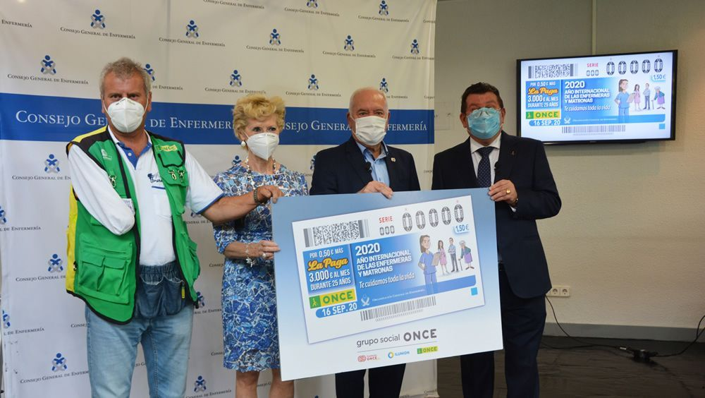 La ONCE rinde homenaje a la Enfermería