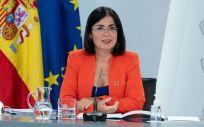 La ministra de Función Pública y Política Territorial, Carolina Darias. (Foto. Pool Moncloa / Borja Puig de la Bellacasa)