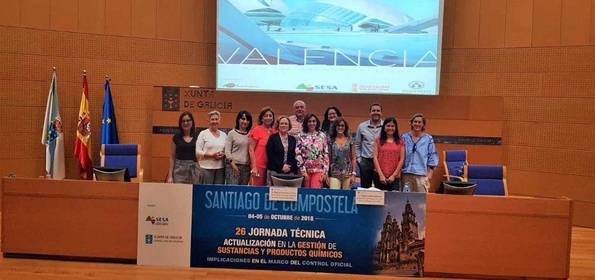Junta directiva de la Sociedad Española de Sanidad Ambiental (Sesa). (Foto. Sesa)