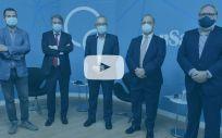 De izquierda a derecha: Miguel Ángel Mañez, Moldoaldo Garrido, José Soto, José María Martínez y Juan Blanco (Foto: ConSalud.es)