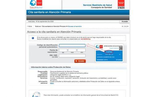 Los españoles prefieren pedir cita en Atención Primaria por teléfono o presencial a hacerlo 'online'