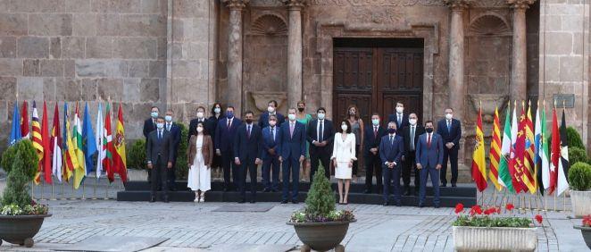 Reunión del Gobierno y las comunidades autónomas en la XXI Conferencia de Presidentes (Foto: Pool Moncloa / Borja Puig de la Bellacasa)
