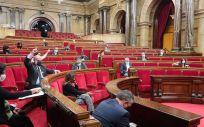 Pleno del Parlament de Cataluña (Foto: Parlament)