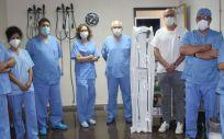 El equipo de la Unidad de Endoscopia Digestiva (Foto. Hospital General Universitario de Alicante)