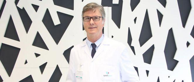 El neurólogo Gurutz Linazasoro (Foto. Policlínica Gipuzkoa)