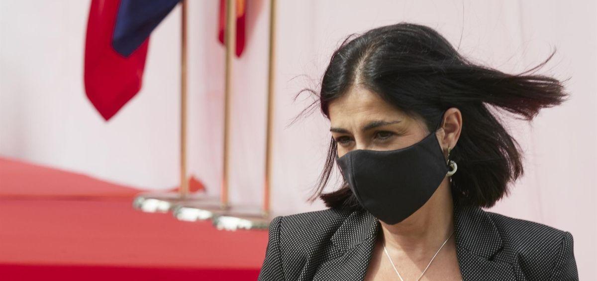 La ministra de Política Territorial y Función Pública, Carolina Darias (Foto. Eduardo Sanz   Europa Press)