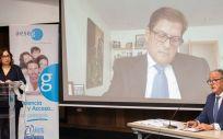 La directiva de la Asociación Española de Medicamentos Genéricos (Aeseg) durante la presentación del