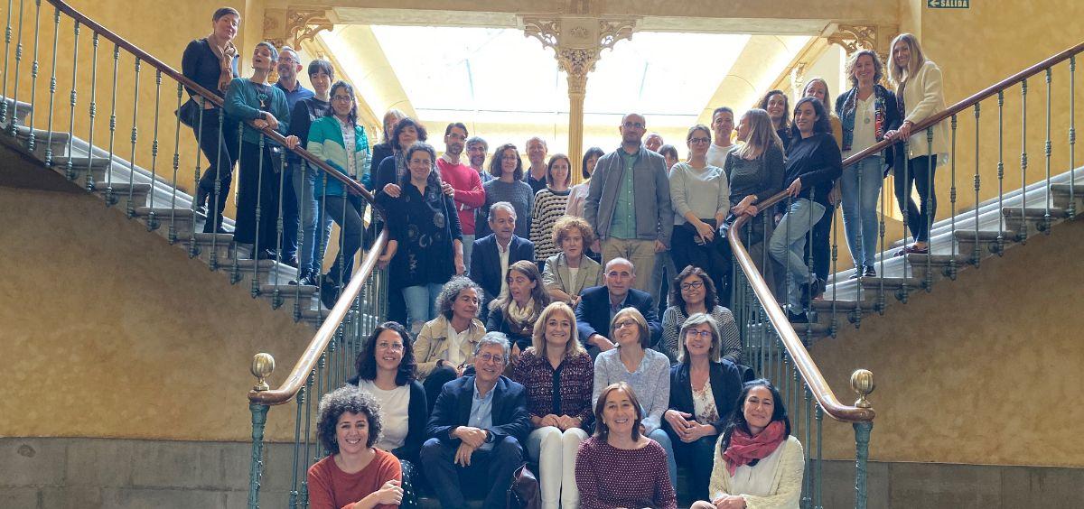 Investigadores participantes en el proyecto MCC Spain (Foto. CIBERISCIII)
