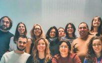 El equipo, coordinado por el investigador ARAID Julián Pardo (Foto. Gobierno de Aragón)
