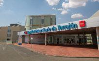 Entrada principal al Hospital Universitario de Torrejón (Foto. HUT)