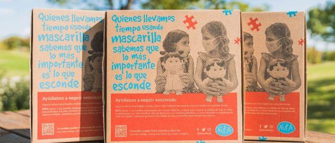 Los niños con fallo intestinal, protagonistas de las Cajas de Telepizza