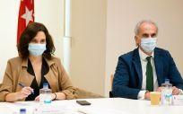 Isabel Díaz Ayuso y Enrique Ruiz Escudero (Foto: CAM)