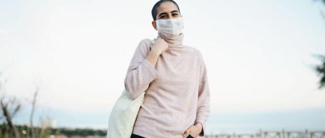 Paciente con cáncer (Foto. Farmaindustria)