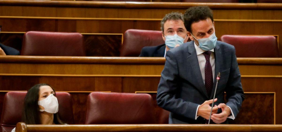 Edmundo Bal, diputado de Ciudadanos, interviene en el Congreso (Foto: Congreso)