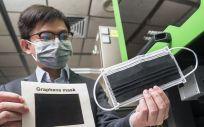 La mascarilla de grafeno (Foto. City University of Hong Kong)