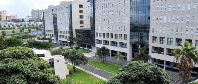El Hospital Universitario de Gran Canaria Dr. Negrín (Foto. Gobierno de Canarias)