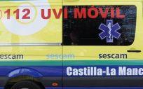Ambulancia Sescam (Foto. EP)