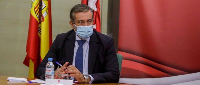 El consejero de Justicia, Interior y Víctimas de la Comunidad de Madrid, Enrique López (Foto: Europa Press - R.Rubio)