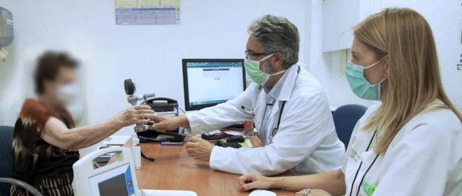 Una paciente en consulta (Foto. SENPE)