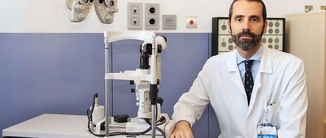 El doctor Pedro Arriola, autor del estudio (Foto. Hospital Clínico San Carlos)