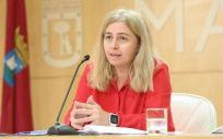 Inmaculada Sanz, portavoz municipal y delegada de Seguridad y Emergencias (Foto: Ayuntamiento de Madrid)